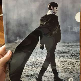 【Bigbang Official Merchandise】Clear File