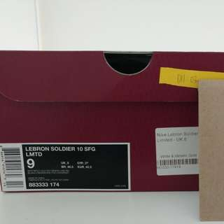 Lebron Soldier 10 SFG6 US9