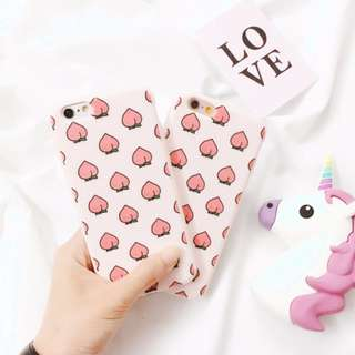 [PO] peach soft case