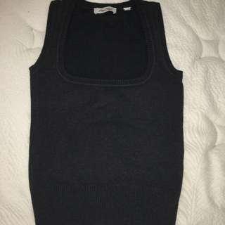 MissShop Vest, Grey, Size 8