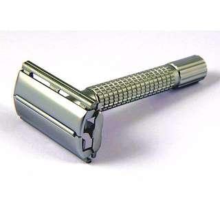 Stainless Steel Classic Retro Safety Razor