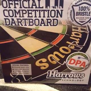 Harrows Official Competition Bristle Dartboard
