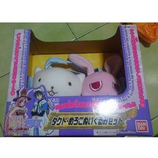 日本正版可議價 尋找滿月 娃娃組  BANDAI