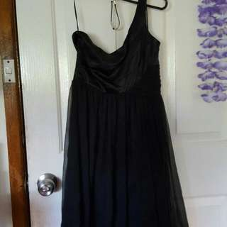 Lipsy London One Shoulder Dress Size 6