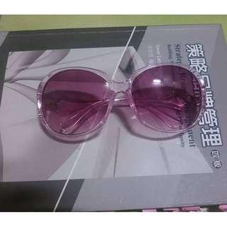 紫紅色 太陽眼鏡 墨鏡