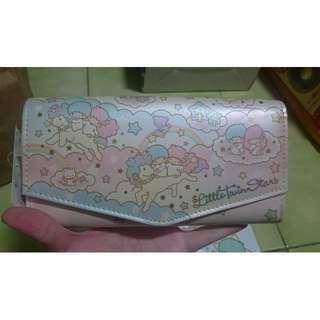 日本正版 雙子星 kikilala 長夾 皮夾 錢包