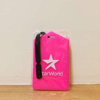 Star World 螢光粉行李吊牌