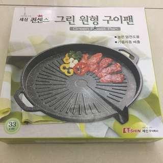 追韓劇吃烤肉啦! 韓國原裝烤肉盤 韓國製造購買