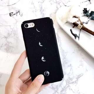 [PO] fading moon / moon phase matte case