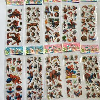 Spider-Man Stickers Sets
