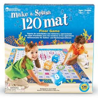 Learning Resources Make A Splash 120 Mat