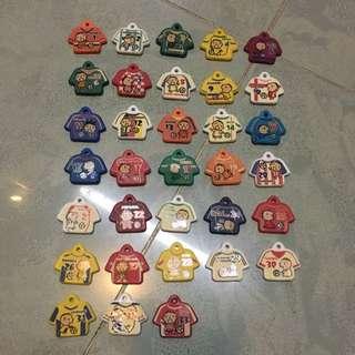 香港7-11 2006年絕版大口仔世界盃足球衫鎖匙套