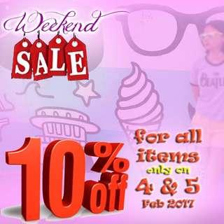Weekend flash sale!🎉