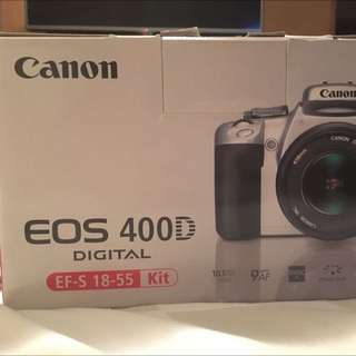 Canon EOS 400D EF-S 18-55