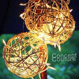 Twine lantern
