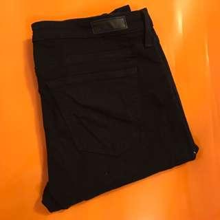 AG Steve Jeans Black Size 27
