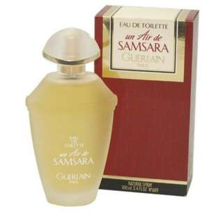 Samsara 100ml Ladies Perfume Vintage Rare Paris Natural Spray Guerlain Un Air De Eau De Toilette N°689 3.4 FL OZ 100 ml