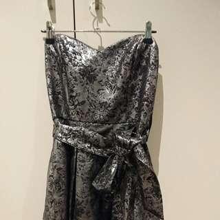 Metalic cocktail dress