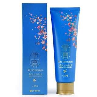 (換/售)韓國LG 藍色 燕窩升級版 潤膏 洗+潤二合ㄧ洗髮精
