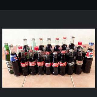 Coca Cola Bottles Collection
