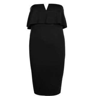 Boohoo Strapless Dress -16