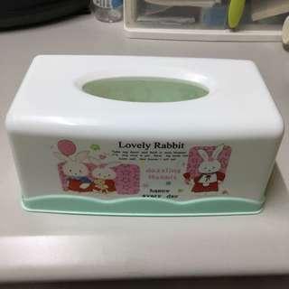 兔子面紙盒