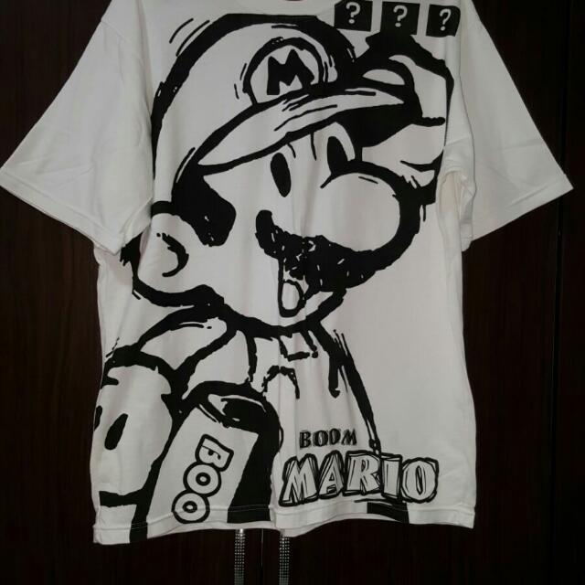 c204a4a99dc8 VERY CHEAP) 1pc Mario Boom Tee-shirt