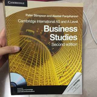 Cambridge Business Studies 2nd Edition