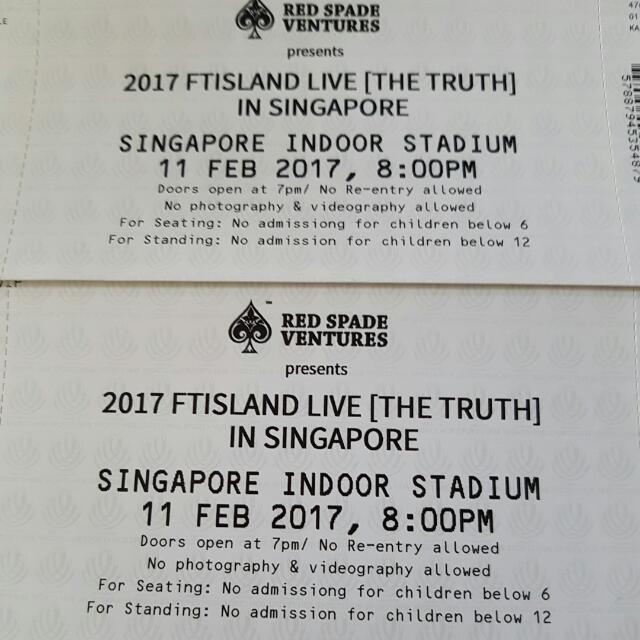 2017 FT Island Live (The Truth) in Singapore