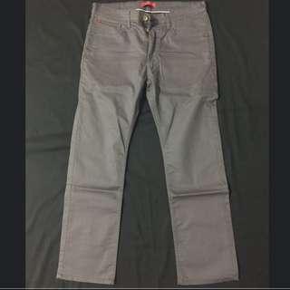 C*FIVE鐵灰直筒褲