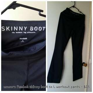 Reebok Authentic Gym Yoga Pants