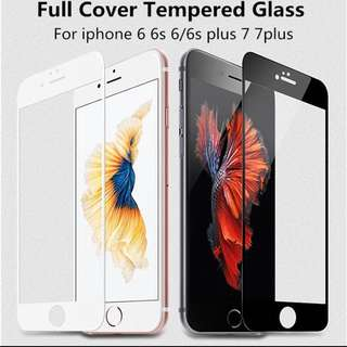 iPhone Full Coverage Tempered Glass