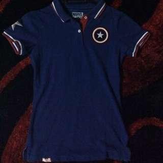 Marvel Colar Tshirt