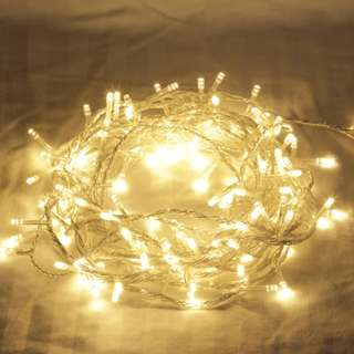 NEW! LAST PIECE! 10 metres Waterproof 110V/220V 100 LED holiday String lights for Christmas Festival Party Fairy Xmas LED String Light, WARM WHITE! ❤ FREE postage!