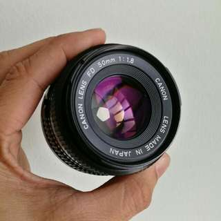 Canon FD 50mm 1.8 Excellent Condition