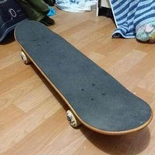 Hardly Used Skateboard