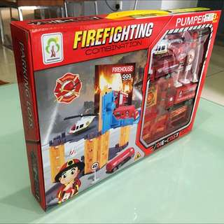 Toy Educational Firefighting Miniatures