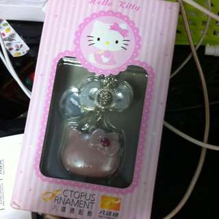 Hello Kitty 八達通inside Have Hkd100