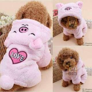 Furry Pig Costume