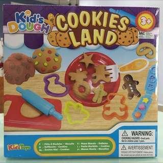 Toy Playdoh Cookies Land