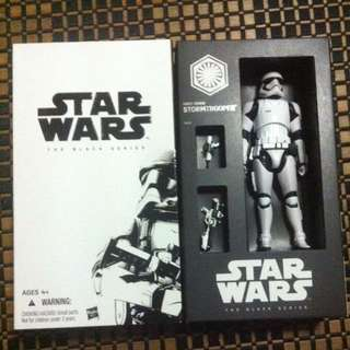 Star Wars First Order Stormtrooper Hasbro SDCC Exclusive