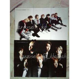 Reserved [READY STOCK] BEST OF BTS POSTERS