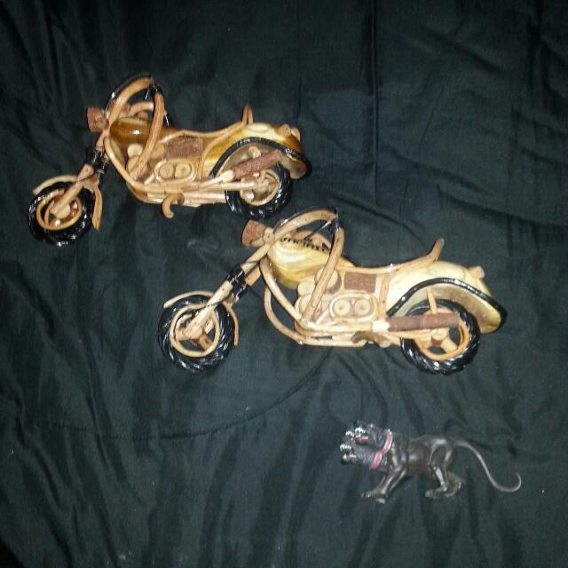2 Handcrafted Motorcycles