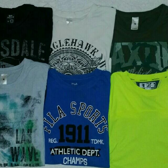 6X MENS MEDIUM TSHIRTS