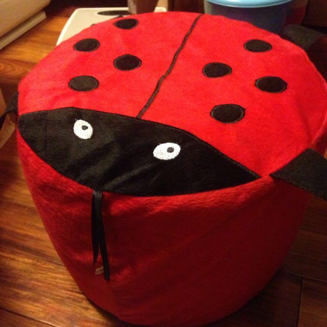 瓢蟲充氣小椅子