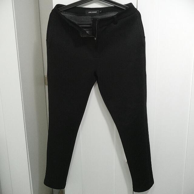 太空棉黑褲
