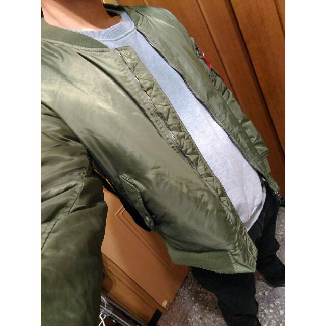 MA-1 軍綠 軍裝外套