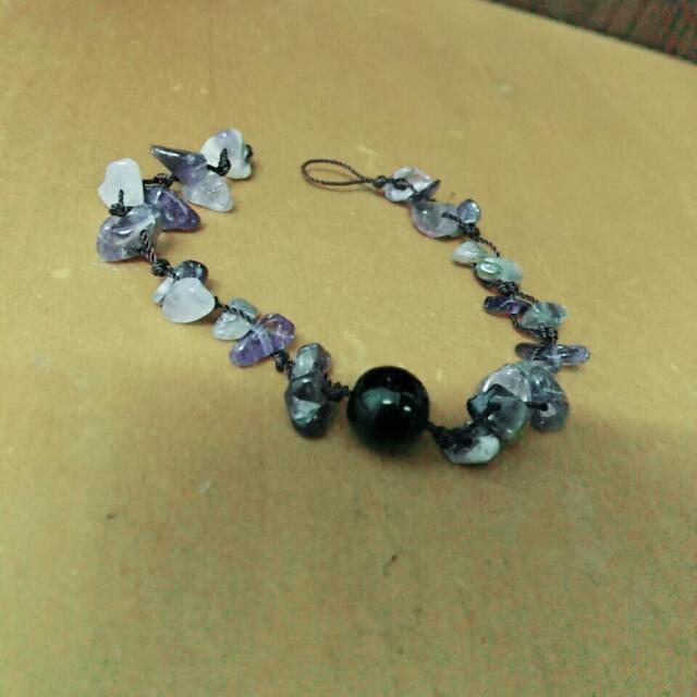 異國風🎀紫寶石手鍊