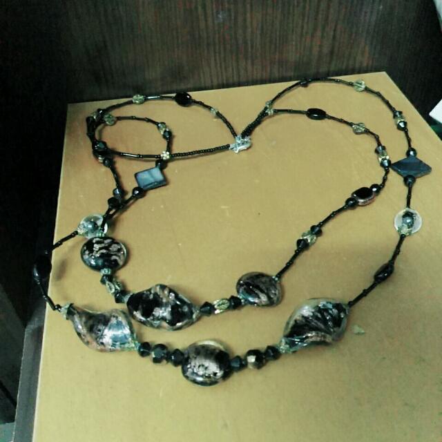 異國石項鍊
