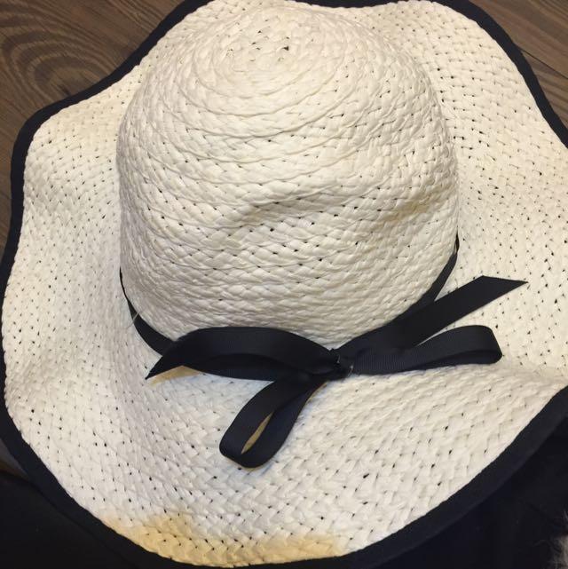夏季竹鞭陽帽